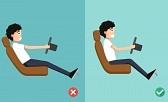 Posture au volant